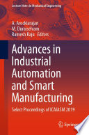 Advances in Industrial Automation and Smart Manufacturing Book