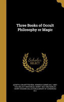 3 BKS OF OCCULT PHILOSOPHY OR