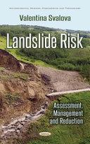 Landslide Risk
