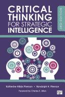 Critical Thinking for Strategic Intelligence Pdf/ePub eBook