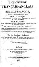Dictionnaire français-anglais et anglais-français