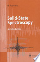 Solid State Spectroscopy Book