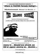 The Islamic Sunrise  Official Magazine of the Ahmadiyya Anjuman Ishaat e Islam Lahore  Ontario  Canada   USA     February 2009 issue