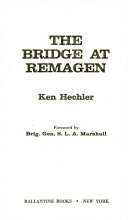 The Bridge at Remagen Book
