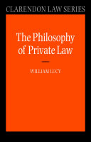 Philosophy of Private Law