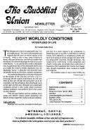 Buddhist Union Newsletter Book