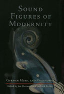 Sound Figures of Modernity