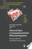 Advanced Topics In Computational Partial Differential Equations Book PDF