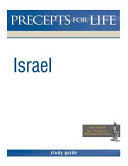 Israel Precepts For Life Study Guide Black And White Version