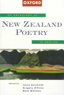 An Anthology of New Zealand Poetry in English Book PDF