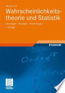 Wahrscheinlichkeitstheorie und Statistik