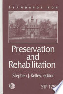 Standards For Preservation And Rehabilitation