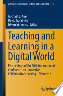 Teaching And Learning In A Digital World Book PDF