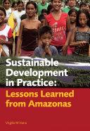 Sustainable Development in Practice
