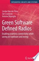 Green Software Defined Radios