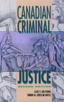 Canadian Criminal Justice