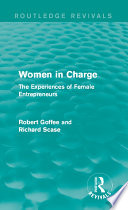 Women in Charge  Routledge Revivals