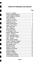 Directory Of Philippine American Women Writers And Artists