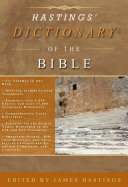 Hastings' Dictionary of the Bible Pdf/ePub eBook