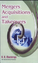 Mergers, Acquisitions and Takeovers