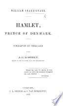 Hamlet, Prince of Denmark. Uitgegeven en verklaard door A. C. Loffelt