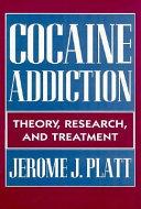 Cocaine Addiction Book