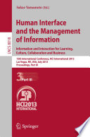Human Interface and the Management of Information