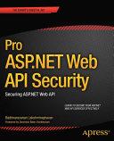 Pro ASP.NET Web API Security