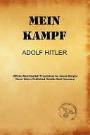 Mein Kampf  James Murphy Nazi Authorized Translation  Book