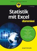 Statistik mit Excel fÃ1⁄4r Dummies