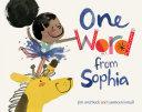 One Word from Sophia Pdf/ePub eBook