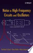 Noise in High Frequency Circuits and Oscillators Book