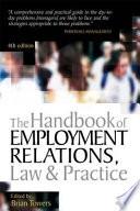 The Handbook of Employment Relations