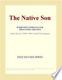 The Native Son (Webster's German Thesaurus Edition)