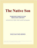 The Native Son  Webster s German Thesaurus Edition