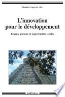 L'innovation pour le développement