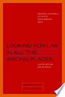 Looking for Law in All the Wrong Places Book PDF