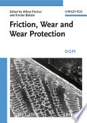 Friction  Wear and Wear Protection Book