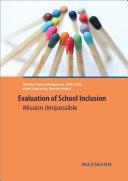 Evaluation of School Inclusion