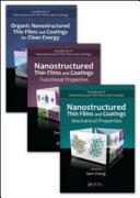 Handbook Of Nanostructured Thin Films And Coatings  Three Volume Set