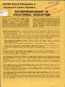 Entrepreneurship in Vocational Education