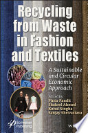 Recycling From Waste In Fashion And Textiles Book PDF