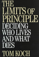 The Limits of Principle Book