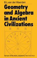 Geometry and Algebra in Ancient Civilizations Pdf/ePub eBook