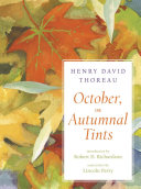 October  or Autumnal Tints