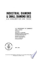 Industrial diamond & small diamond dies