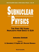 Subnuclear Physics