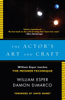 The Actor's Art and Craft Pdf/ePub eBook