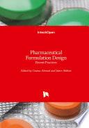 Pharmaceutical Formulation Design