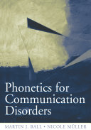 Pdf Phonetics for Communication Disorders Telecharger